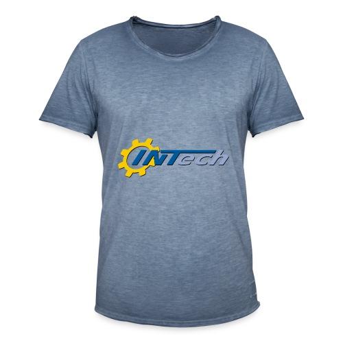 intech_logo - T-shirt vintage Homme
