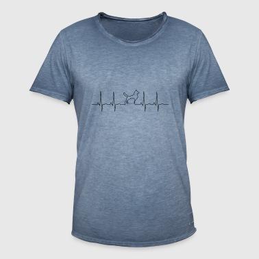 chien - T-shirt vintage Homme
