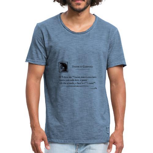 1,06 Dante Vuolsi Cosi - Maglietta vintage da uomo