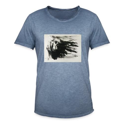 Dunkles Erwachen - Männer Vintage T-Shirt