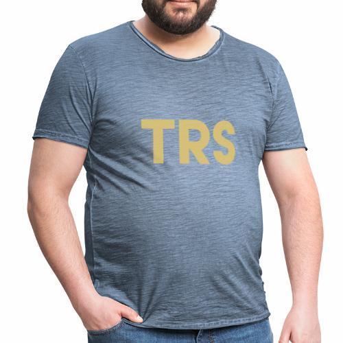 logo gold - Maglietta vintage da uomo