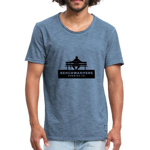 Benchwarmers logo - Vintage-T-shirt herr