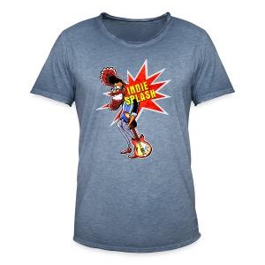 Indie Splash - Männer Vintage T-Shirt