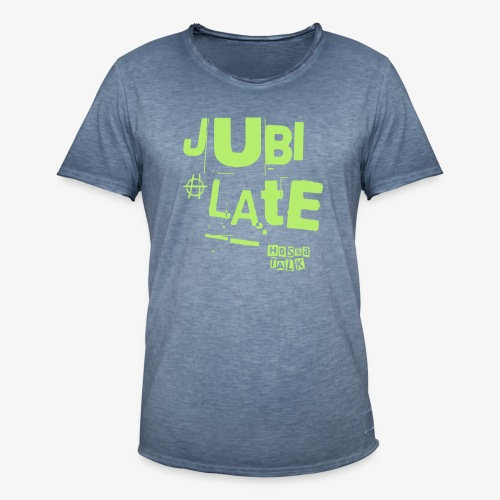Jubilate-Hoodie - Männer Vintage T-Shirt