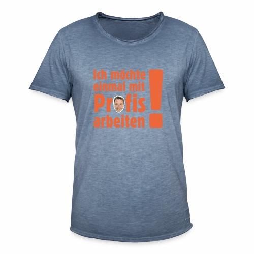 Profi Team Edition - Männer Vintage T-Shirt