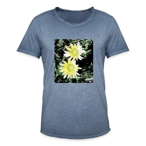 Flores silvestres - Camiseta vintage hombre