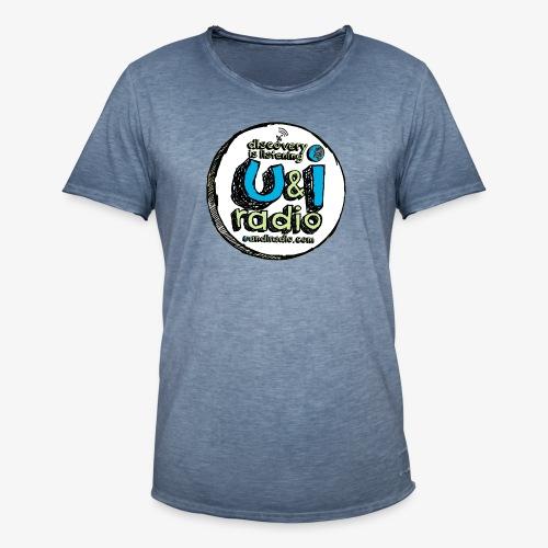 U & I Logo - Men's Vintage T-Shirt