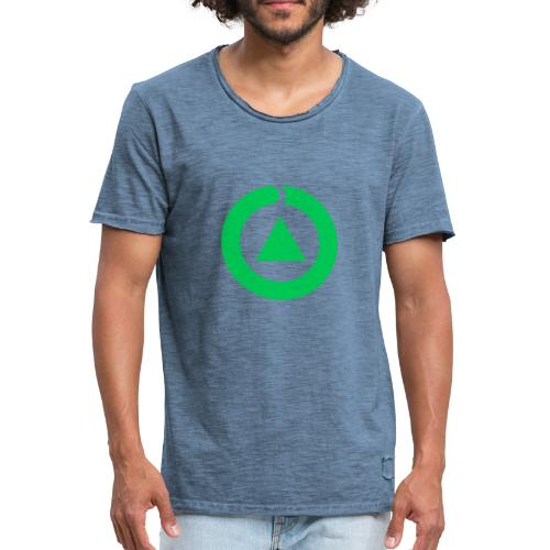 Ecologia - Camiseta vintage hombre