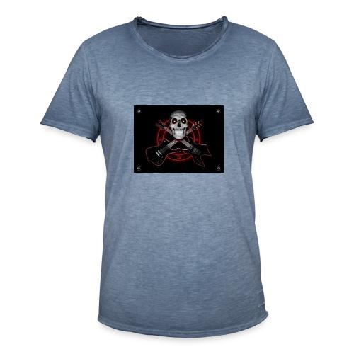 Guitarra Rockera - Camiseta vintage hombre