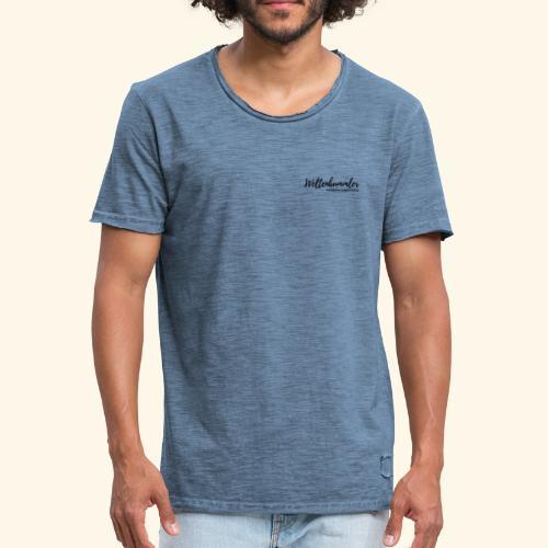 Weltenbummler - Modern Sabbatical - Männer Vintage T-Shirt