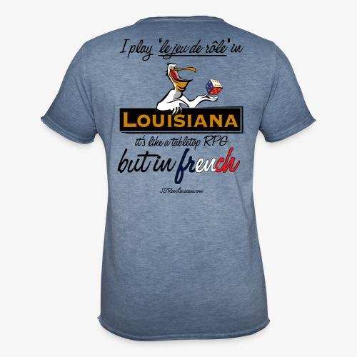 JDR en Louisiane - Men's Vintage T-Shirt