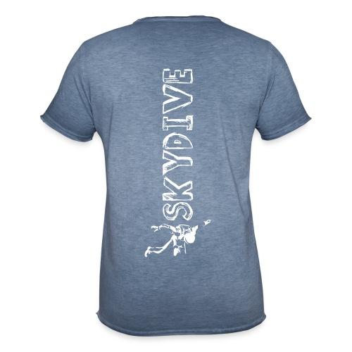 Skydive Sketchbook II - Männer Vintage T-Shirt