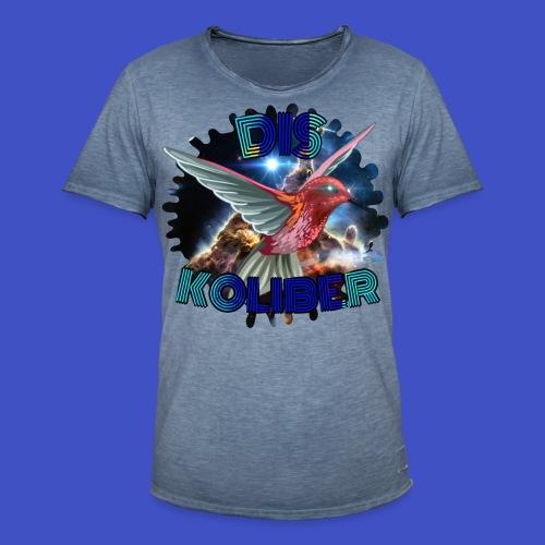 Dis Koliber Logo - Koszulka męska vintage