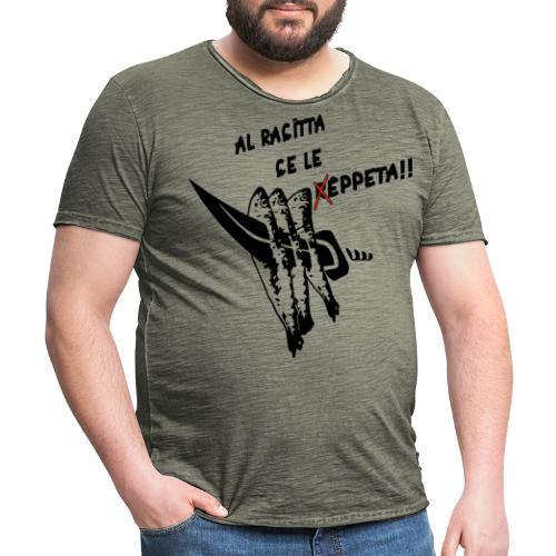 Espeto - Camiseta vintage hombre