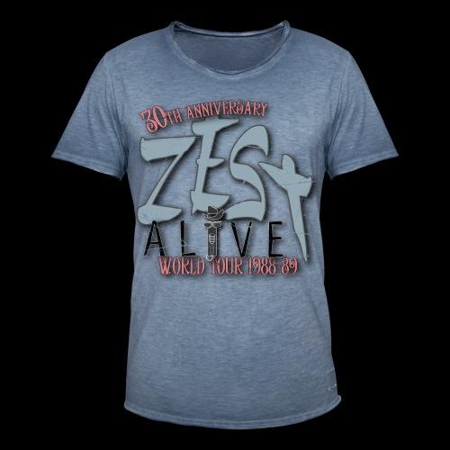 Zestshirt - Vintage-T-shirt herr