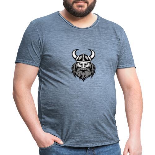 Vikings T-Shirt - Maglietta vintage da uomo