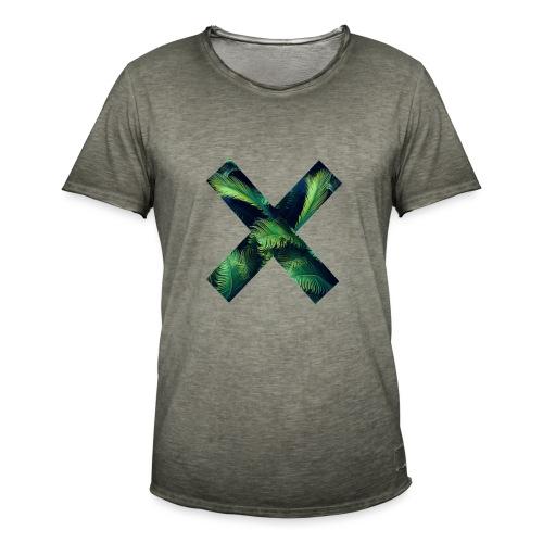 X - Camiseta vintage hombre