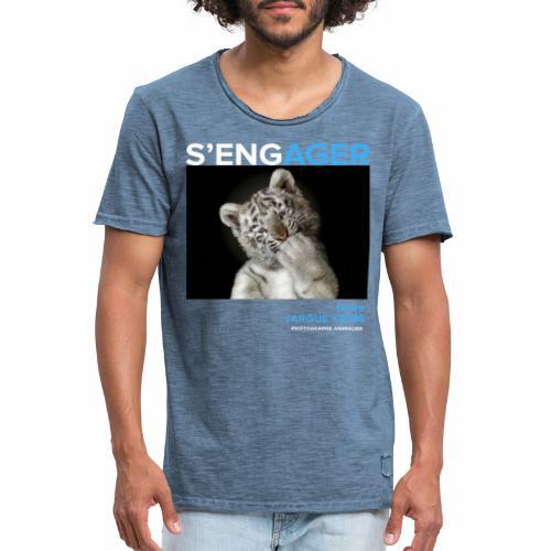 1 Achat = 1 Don à l'association Rainfer - T-shirt vintage Homme