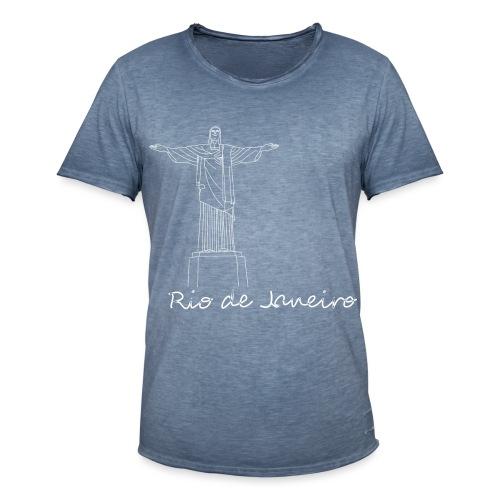 Rio de Janeiro - Maglietta vintage da uomo