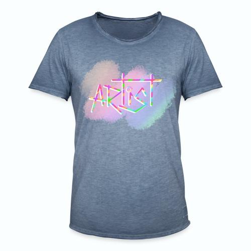 Artist in Colors - Camiseta vintage hombre