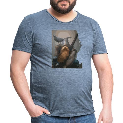 gárgola fantasía - Camiseta vintage hombre
