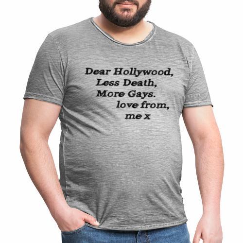 Dear Hollywood - Men's Vintage T-Shirt
