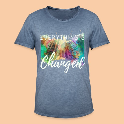 Changed - Camiseta vintage hombre