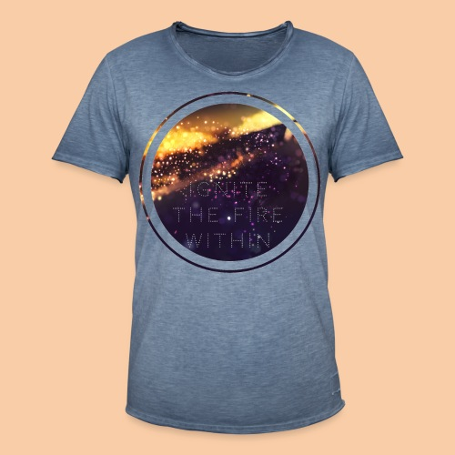 Ignite the firewithin 1 - Camiseta vintage hombre