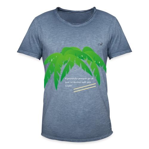 Palmera x OMW - Camiseta vintage hombre