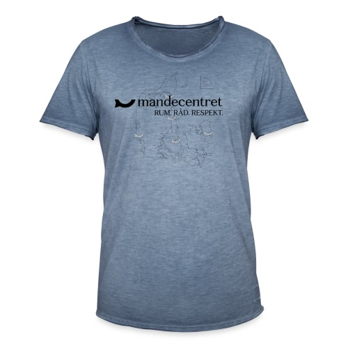 troejedesign - Herre vintage T-shirt
