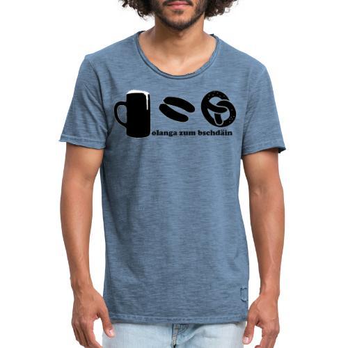 olanga zum bschdaein - Männer Vintage T-Shirt