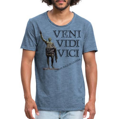Giulio Cesare, veni vidi vici - Maglietta vintage da uomo