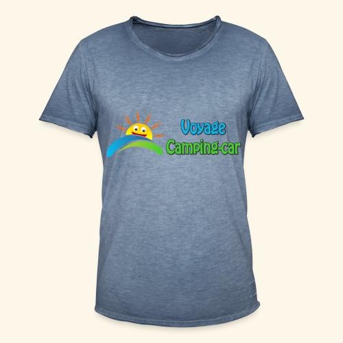 Voyage Camping-Car - T-shirt vintage Homme