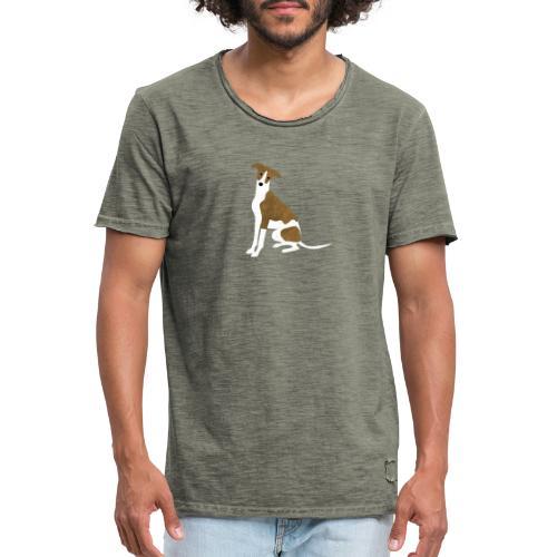 Whippet - Männer Vintage T-Shirt
