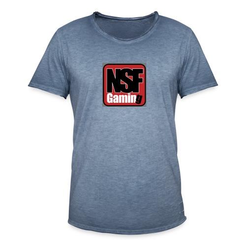 NSFGaming - Vintage-T-shirt herr