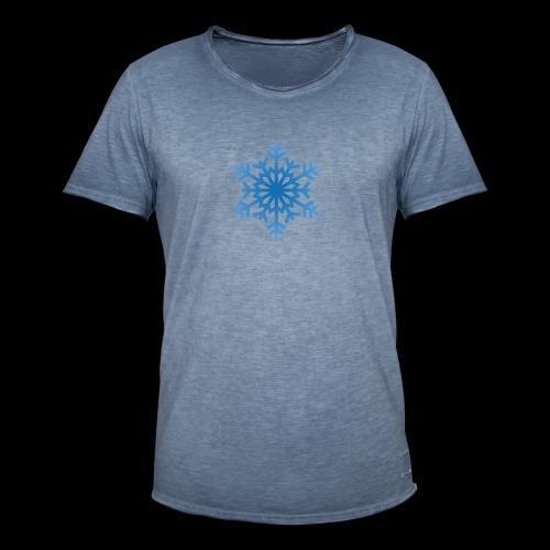 Snowflake - Herre vintage T-shirt