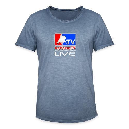 IceHorse logo - Men's Vintage T-Shirt