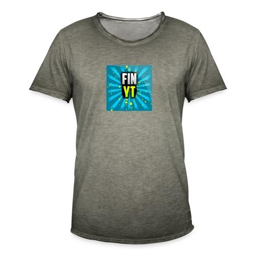 Uusi Youtube Logo - Miesten vintage t-paita