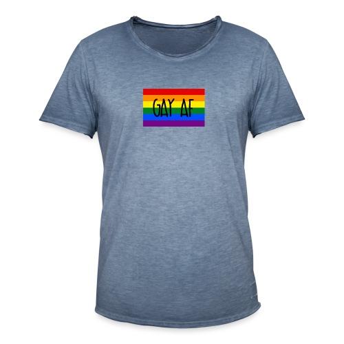 gay af - Männer Vintage T-Shirt
