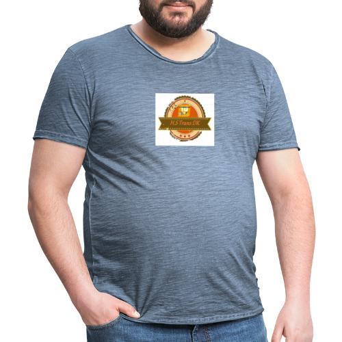 Hjarne 2 - Herre vintage T-shirt