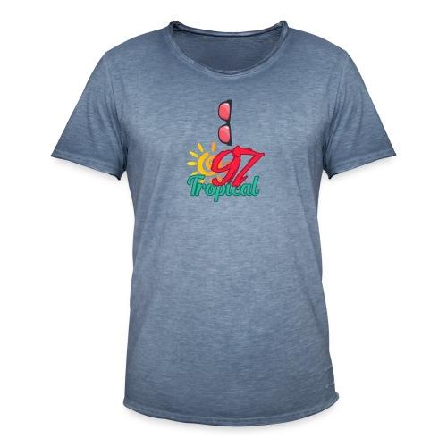 A01 4 - T-shirt vintage Homme