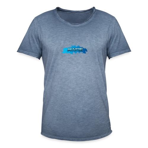 Bri Futties paint design - Men's Vintage T-Shirt