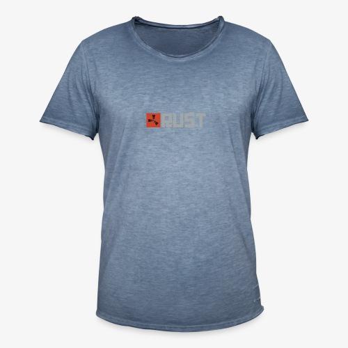 Rust - Men's Vintage T-Shirt