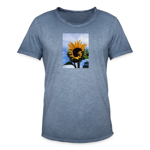Girasoles - Camiseta vintage hombre