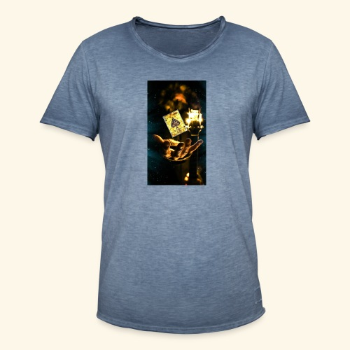 as - Camiseta vintage hombre