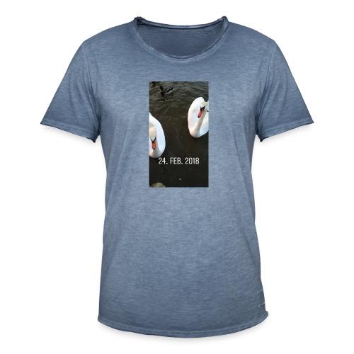 den hvide svane - Herre vintage T-shirt