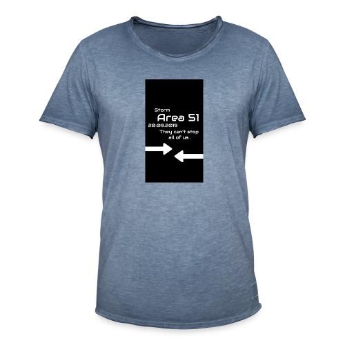 Storm Area 51 - Männer Vintage T-Shirt