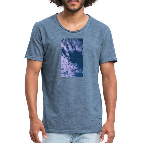 Himmel - Männer Vintage T-Shirt