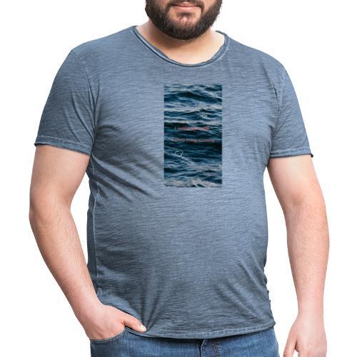 Sprüche - Männer Vintage T-Shirt