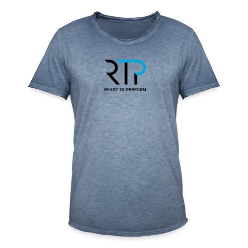 RTP byline black - Vintage-T-shirt herr